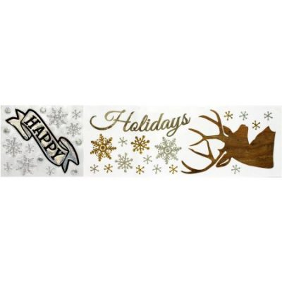 Walmart – Holiday Time Christmas Decor Stag 27.5″ x 9.75″ Bling Wall Art Only $2.51 (Reg $6.97) + Free Store Pickup