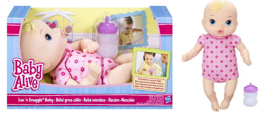 Target.com – Baby Alive Luv 'n Snuggle Baby Blonde AND Brunette For Only $6.83