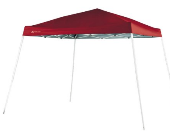 Walmart – Ozark Trail 10′ x 10′ Instant Slant Leg Canopy Only $38.45 (Reg$59.00) + FREE SHIPPING!
