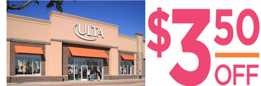 Ulta Beauty Coupon for $3.50 Off $15 Purchase Valid Thru 11/25/17