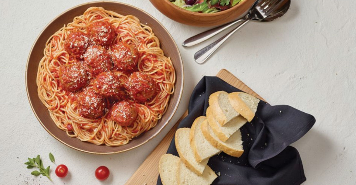 FREE Spaghetti & Meatballs from Carrabba's with Entree Purchase (Today Only)