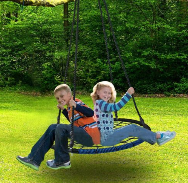 Ebay – New 40″ Tire Spider Web Swing (600 lbs Max) For Only $38.89 Shipped!