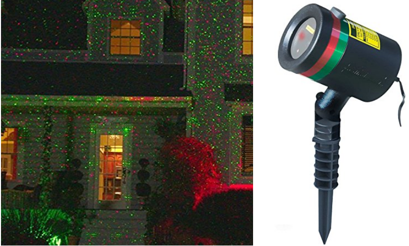Amazon – Star Shower As Seen on TV Static Laser Lights Star Projector Only $16.98 (Reg $40) + Free Shipping!