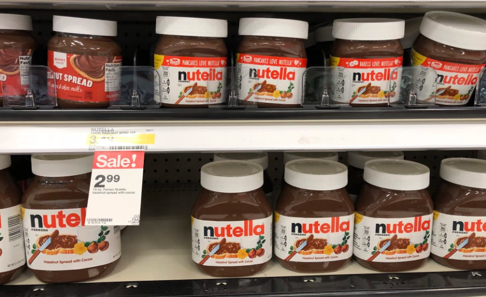Nutella Hazelnut Spread 13 oz Only 99¢ (Reg $3.49) at Target – Print Your $2 Off Coupon Now!