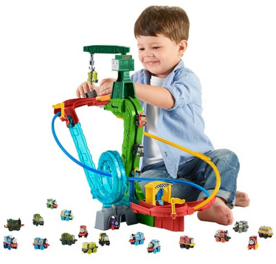Fisher-Price Thomas & Friends MINIS Motorized Raceway Playset Only $12.97 + Free Store Pickup!