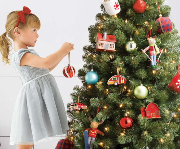 Target – 6ft Prelit Full Artificial Christmas Trees Only $29.99 + Free Shipping!