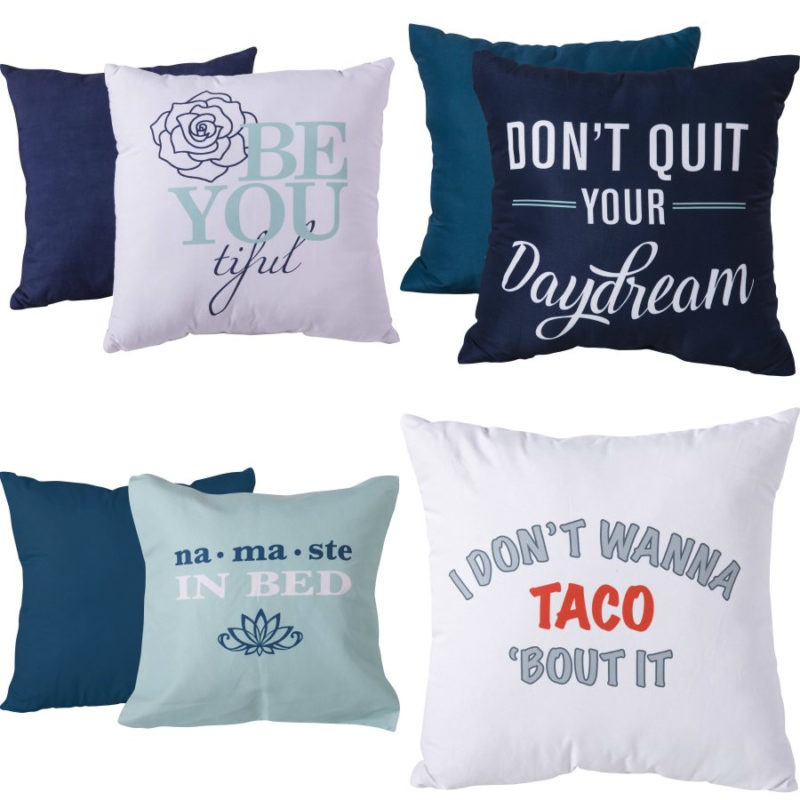 Walmart – Mainstays 16″ X 16″ Decorative Pillow  Only $5.00 (Reg $9.88) + Free Store Pickup