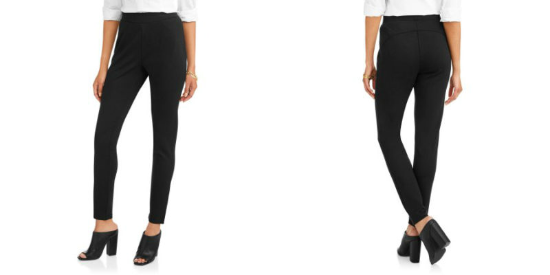 Walmart – Harmony & Havoc Women's Ultimate Contour and Lift Ponte Pant with Cozy Fleece Lining Only $10.00 (Reg $14.86) + Free Store Pickup