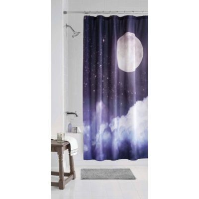 Walmart – Mainstays Moon Shower Curtain Only $4.94 (Reg $9.88) + Free Store Pickup