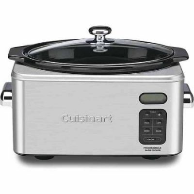 Walmart – Cuisinart 6.5 Qt. Programmable Slow Cooker PSC-650 Only $45.61 (Reg $99.95) + Free 2-Day Shipping