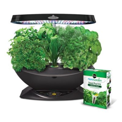 Walmart – Miracle-Gro AeroGarden 7 LED with Gourmet Herb Seed Pod Kit Only $89.95 (Reg $190.25) + Free Shipping
