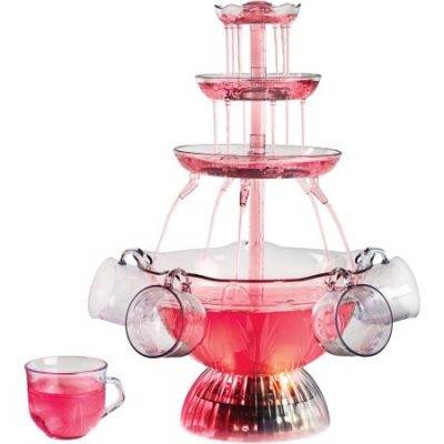 Walmart – Nostalgia LPF150 Vintage Collection Lighted Party Fountain, Clear Only $19.99 (Reg $24.99) + Free Store Pickup