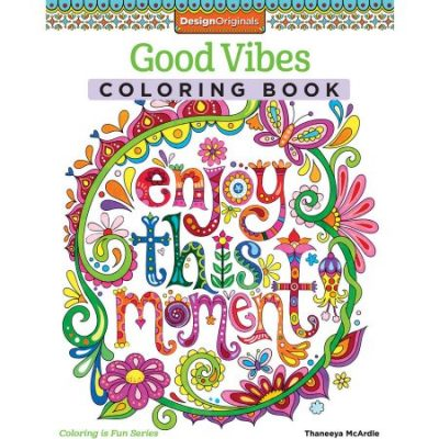 Walmart – GOOD VIBES COLORING BOOK Only $5.62 (Reg $6.00) + Free Store Pickup