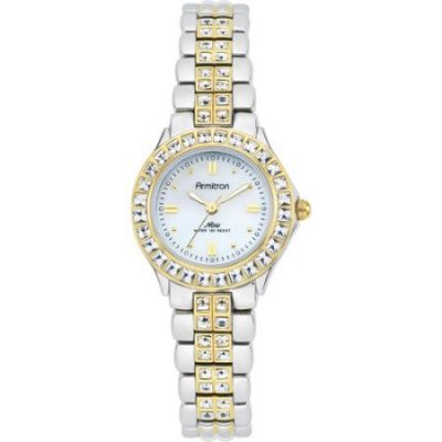 Walmart  – Ladies' Armitron Mother-of-Pearl Dress Watch, Two-Tone Only $42.99 (Reg $58.92) + Free 2-Day Shipping