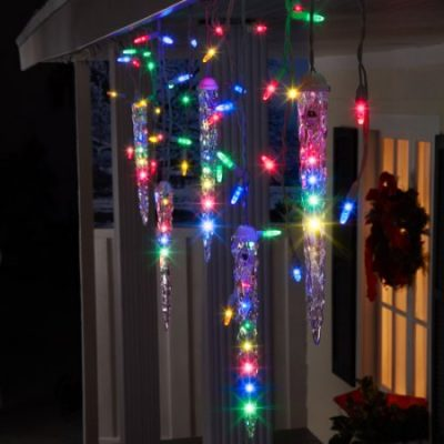Walmart – Gemmy Lightshow Christmas Lights 87-Count LED Shooting Star Icicle Lights, Multi-Color, 9.5′ Long Only $15.91 (Reg $24.98) + Free Store Pickup