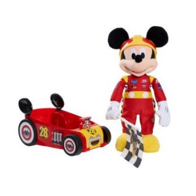Walmart – Disney Mickey and the Roadster Racers Racing Adventure Feature 16″ Plush Only $26.99 (Reg $39.99) + Free Store Pickup