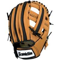 Walmart – Franklin Sports 9-1/2″ Black and Tan PVC Right-Handed Thrower Baseball Glove with Ball Only $12.40 (Reg $24.99) + Free Store Pickup