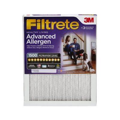 Walmart – Filtrete Healthy Living Advanced Allergen Reduction HVAC Furnace Air Filter, 1500 MPR, 14 x 14 x 1, 1 Filter Only $14.28 (Reg $15.88) + Free Store Pickup
