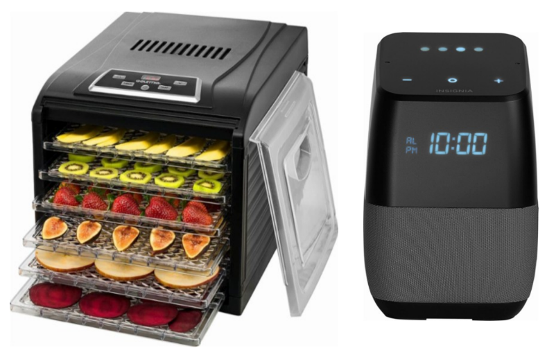 Gourmia 6-Tray Food Dehydrator Only $59.99 + FREE Bluetooth Speaker w/ Google Assistant $60 Value + Free Shipping!