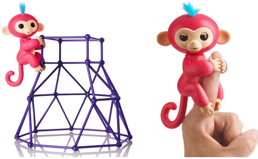 WowWee Fingerlings Baby Monkey AND Playsets Only $19.99 At Amazon