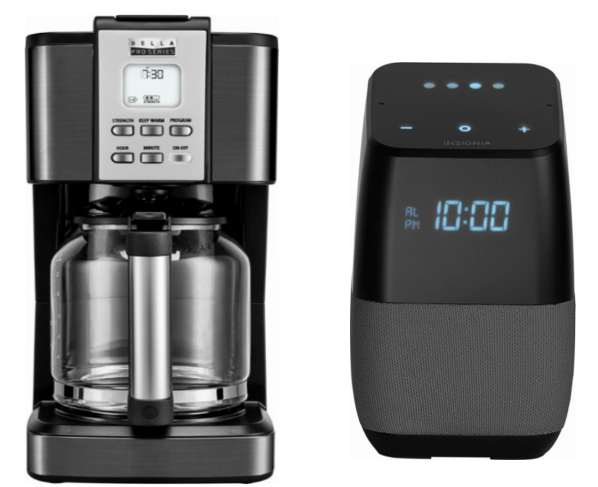 Bella Pro Series 14-Cup Stainless Steel Coffeemaker Only $29.99 (Reg $60) + Free Insignia Bluetooth Speaker w/ Google Assistant ($99.99 Value)
