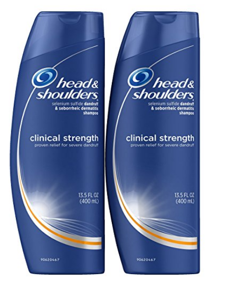 Head and Shoulders Clinical Strength Dandruff and Seborrheic Dermatitis Shampoo, 13.5 Fl Oz (Pack of 2) Only $7.97 at Amazon