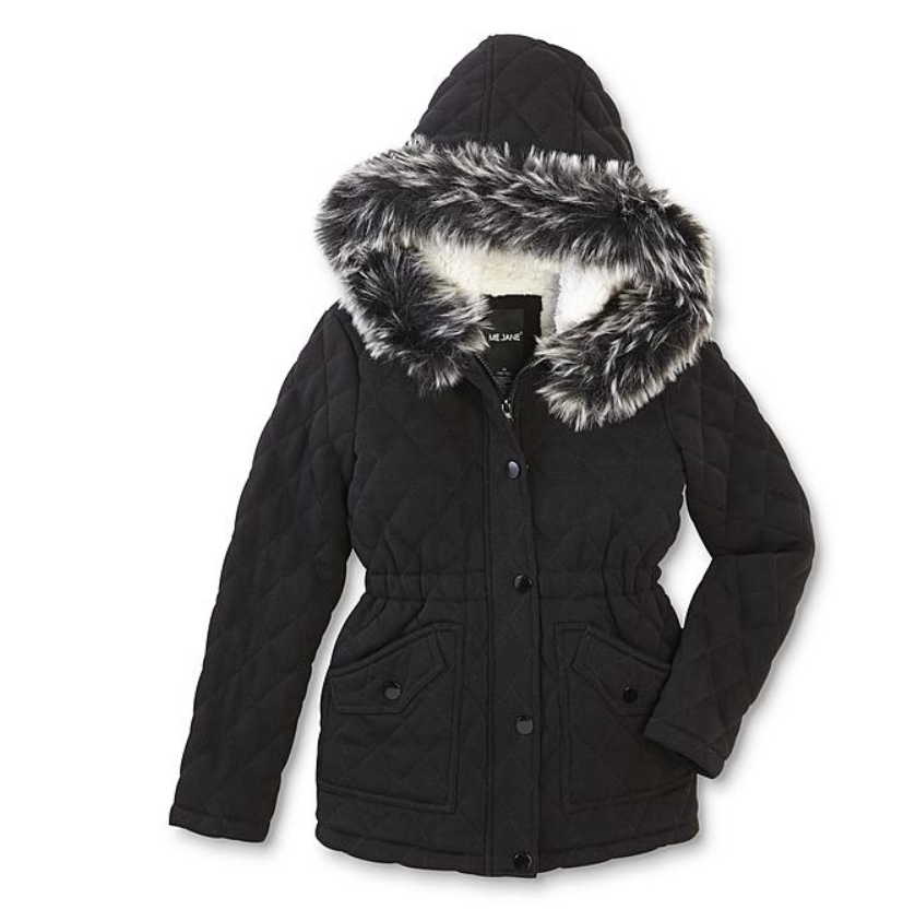 Sears.com – Me Jane Girls' Quilted Jacket Only $7.99 + Free Store Pickup!