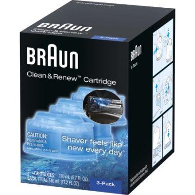 Walmart – Braun Clean & Renew Refill Cartridges CCR – 3 Pack Only $12.99 (Reg $16.99) + Free Store Pickup