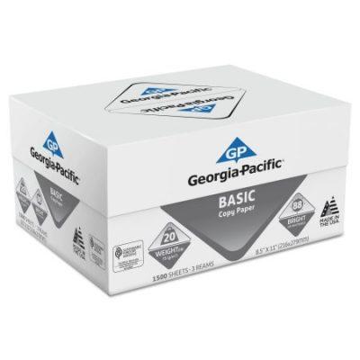 Walmart – Georgia Pacific Basic Copy Paper, 8 1/2 x 11, 88 Bright, White, 1500 Sheets/Carton Only $18.04 (Reg $24.99) + Free Store Pickup
