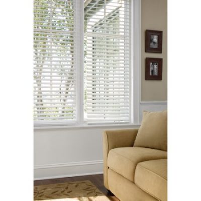 Walmart – Better Homes and Gardens 2″ Faux Wood Blinds, White Only $14.97-$53.97 (Reg $18.71-$43.71) + Free  Store Pickup/ Free Shipping