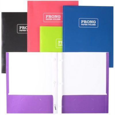 Walmart – Pen+Gear™ Set of 25 Prong Paper Folder Only $1.74 (Reg $3.60) + Free Store Pickup