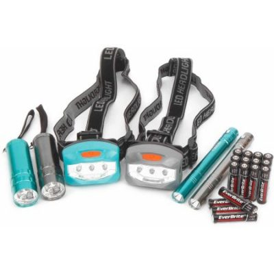 Walmart – Ozark Trail 6-Piece Led Flashlight and Penlight and Headlamp Combo Only $7.32 (Reg $9.82) + Free Store Pickup
