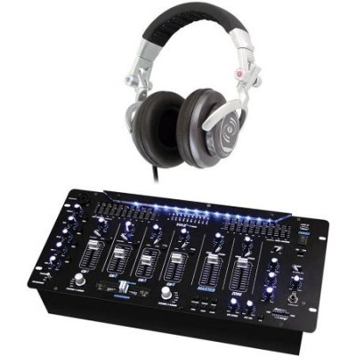 Walmart – Pyle Pro PYD1964B 6-Channel Bluetooth DJ Mixer with Pyle Pro PHPDJ1 Professional DJ Turbo Headphones Only $143.06 (Reg $199.98) + Free 2-Day Shipping