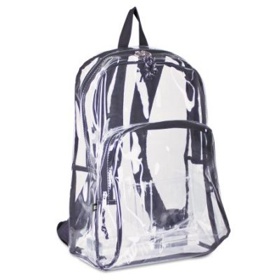 Walmart – Eastsport Two Compartment PVC Plastic Clear Backpack Only $7.99 (Reg $10.28) + Free Store Pickup
