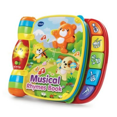Walmart – Musical Rhymes Book™ Only $11.99 (Reg $13.99) + Free Store Pickup