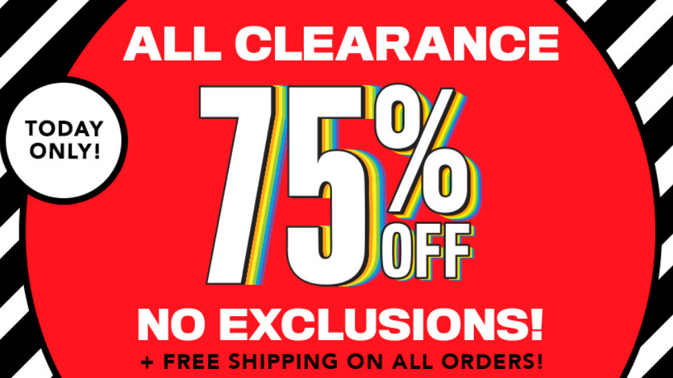 The Children's Place – 75% Off Clearance + FREE Shipping!