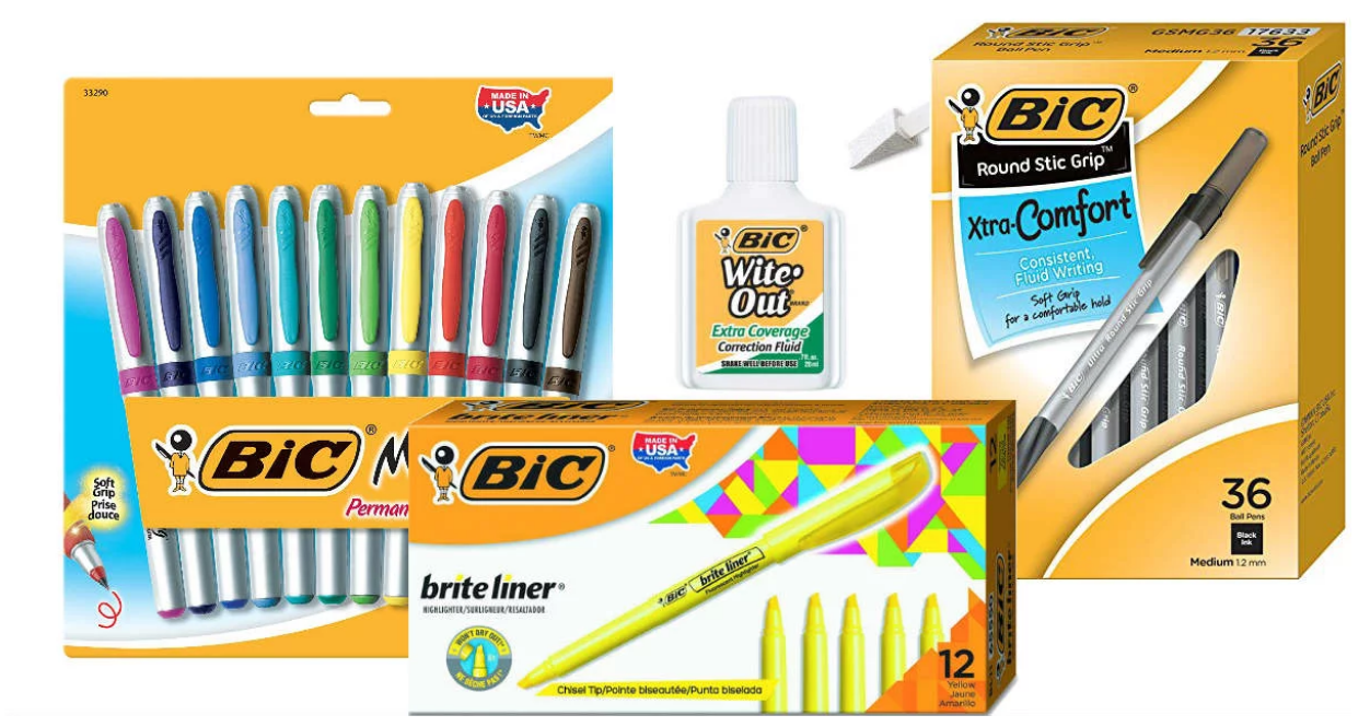 Amazon –  Save Up to 40% on BIC Office Supplies – BIC 12ct Permanent Markers Only $3.24 (Reg $15.45)