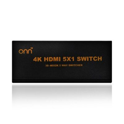 Walmart – ONN 5-Port High Speed HDMI Switch with IR Wireless Remote and AC Power Adapter Only $39.99 (Reg $69.99) + Free 2-Day Shipping