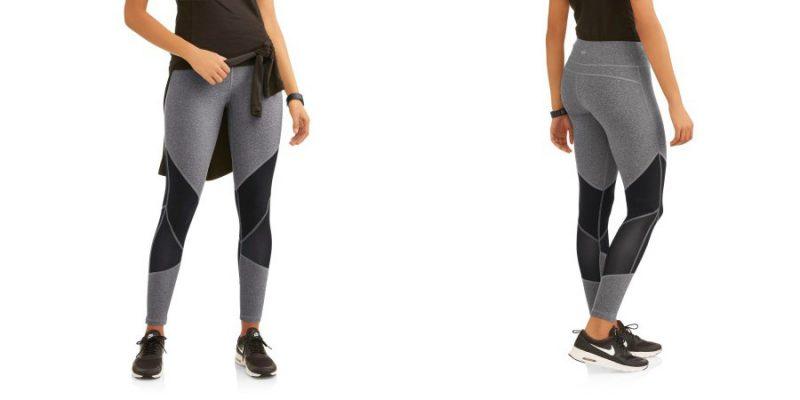 Walmart – N.Y.L. Sport Women's Active Contrast Block Performance Legging Only $7.50 (Reg $11.96) + Free Store Pickup