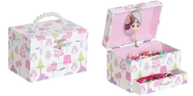 Walmart – Mele Designs Molly Girls' Musical Ballerina Jewelry Box, Owl Pattern Only $18.00 (Reg $30.00) + Free Store Pickup