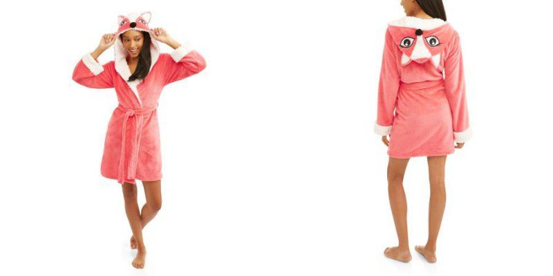 Walmart – Body Candy Huggable Luxe Fox Critter Ears Sleepwear Robe Only $7.00 (Reg $18.82) + Free Store Pickup