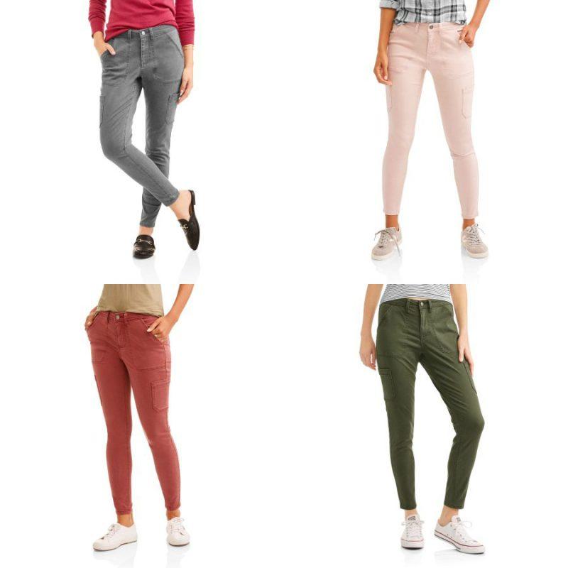 Walmart – Faded Glory Women's Utility Pants Only $10.00 (Reg $16.94) + Free Store Pickup