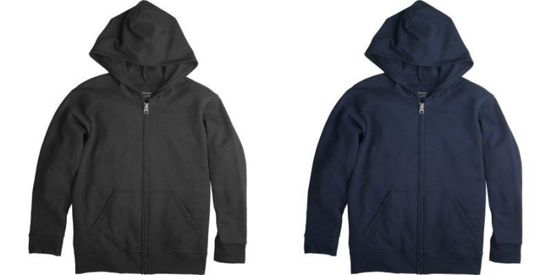 Walmart – Hanes Boys' FreshIQ Fleece Full Zip Hoodie Only $5.00 (Reg $10.88) + Free Store Pickup