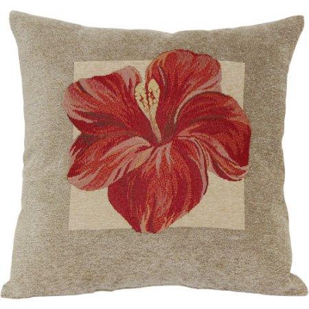 Walmart Red Hibiscus Decorative Pillow Only 798 Reg 1917