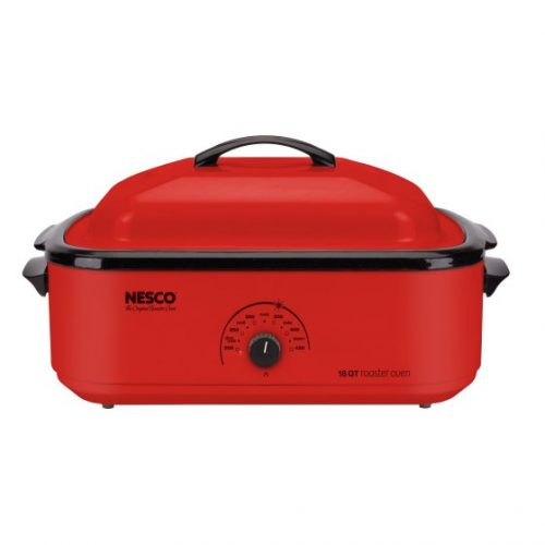Walmart – Nesco 22-Pound Porcelain Roaster Oven, 18-Quart Capacity, Red Only $55.12 (Reg $79.99) + Free 2-Day Shipping