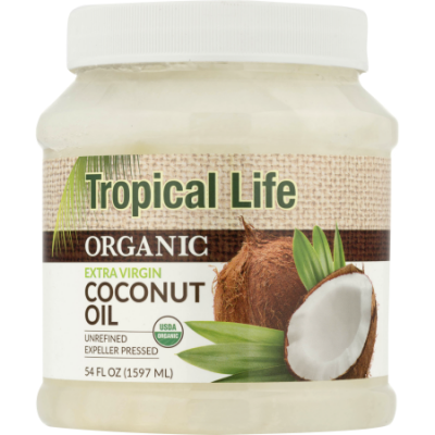 Walmart – Tropical Life Organic Extra Virgin Coconut Oil, 54.0 FL OZ Only $14.96 (Reg $19.98) + Free Store Pickup