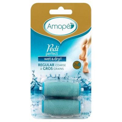 Walmart – Amope Pedi Perfect Wet & Dry Rechargeable Foot File Refills, 2 Count, Regular Coarse Only $14.84 (Reg $18.89) + Free Store Pickup