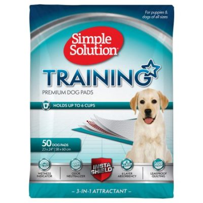 Walmart – Simple Solution Dog Training Pads, 23 x 24 in, 50 Pads Only $16.51 (Reg $18.19) + Free Store Pickup