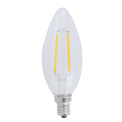 Walmart – Great Value LED Filament Light Bulbs, 2.5W (25 Watt Equivalent), Daylight, 3-count Only $9.94 (Reg $11.92) + Free Store Pickup