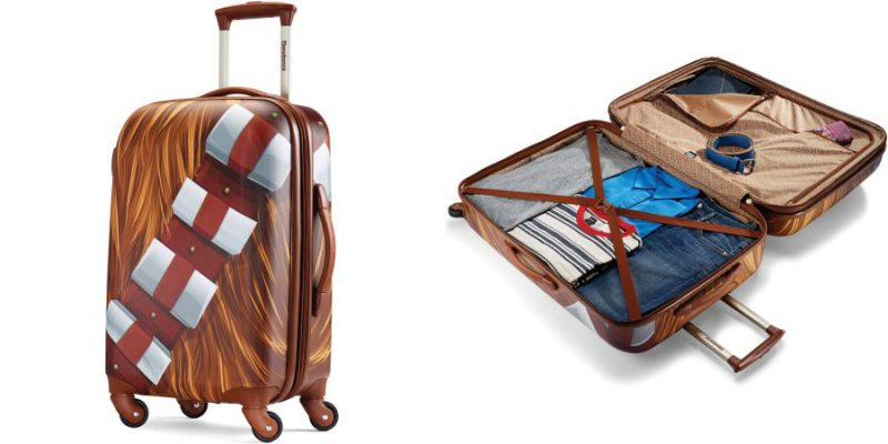Walmart – American Tourister 21″ Star Wars Chewbacca Spinner Only $84.99 (Reg $99.99) + Free 2-Day Shipping